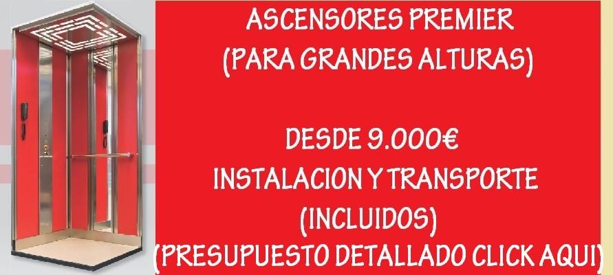 ASCENSORES DESDE 9000€